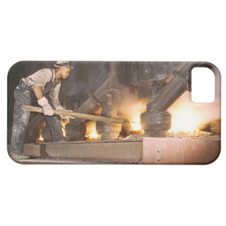 Smelting Furnace 1942 iPhone 5 Cases