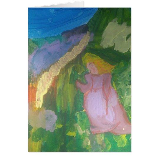 "Smeraldo Gallery""Mademoiselle Gachet in the Garden Card"