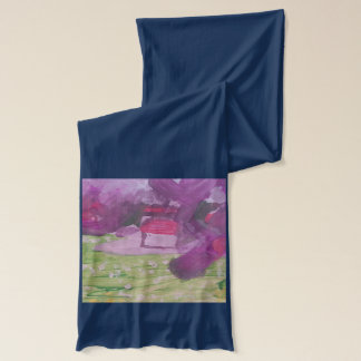 """Smeraldo Gallery """"Orchard Blossoms"""" Collection Scarf"""