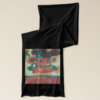 "Smeraldo Gallery ""Sunflower Interpretation"" Scarf"