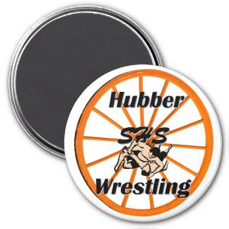 Smethport Hubber Wrestling Fan Magnet