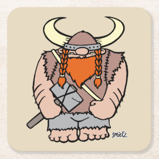 smietz | Victor of the Vikings reductors Square Paper Coaster