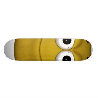 Smile.-3d-black Skateboards