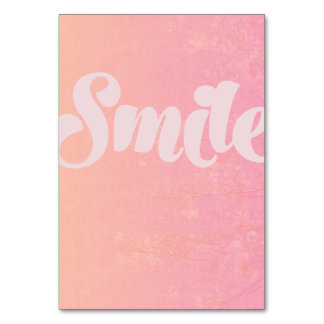Smile and be happy Journal / Note Card