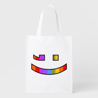 Smile and Wink Market Totes