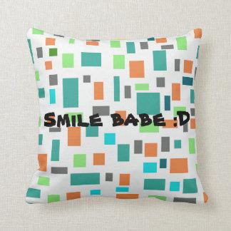 Smile babe Pillow