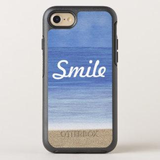 Smile Beach Ocean OtterBox Symmetry iPhone 7 Case
