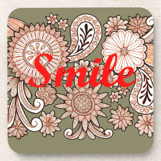 Smile Beverage Coasters