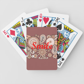 Smile Bicycle Playing Cards