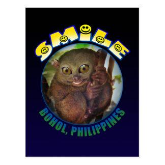Smile Bohol Postcard