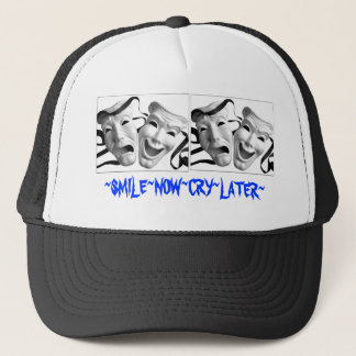 SMILE BOw CRY LATER Trucker Hat