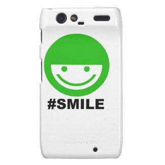 #SMILE MOTOROLA DROID RAZR COVERS
