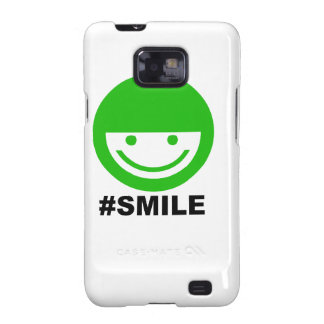 #SMILE GALAXY S2 COVER