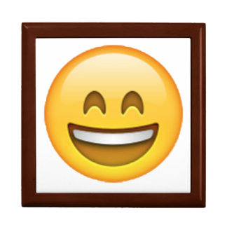 Smile Closed Eyes - Emoji Gift Box