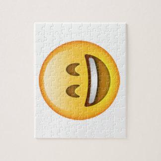 Smile Closed Eyes - Emoji Jigsaw Puzzle