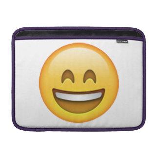 Smile Closed Eyes - Emoji Sleeve For MacBook Air