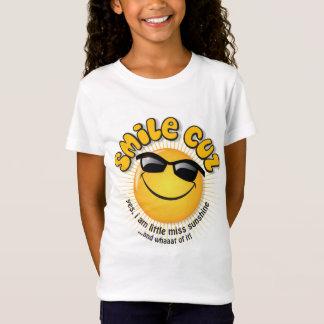 smile cuz ...yes, i am little miss sunshine T-Shirt