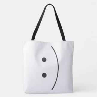 Smile Emoji Tote Bag