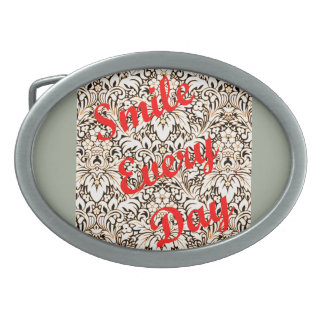 Smile Every Day Belt Buckles