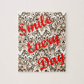 Smile Every Day Jigsaw Puzzle