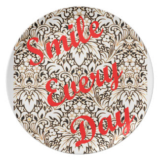 Smile Every Day Plate