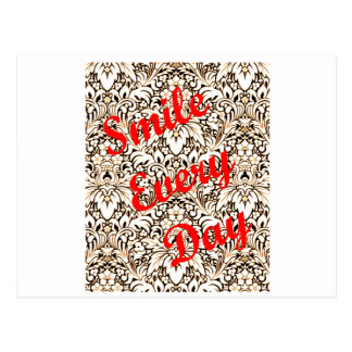 Smile Every Day Postcard