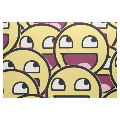 Smile Family Fabric