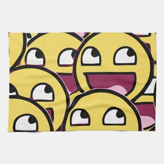 Smile Family Kitchen Towel