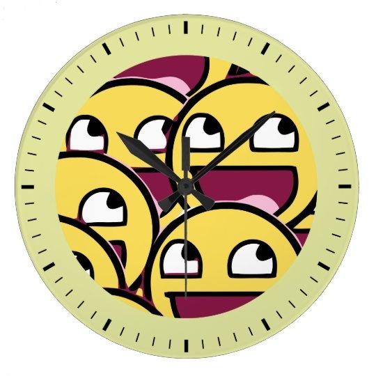Smile Family Large Clock