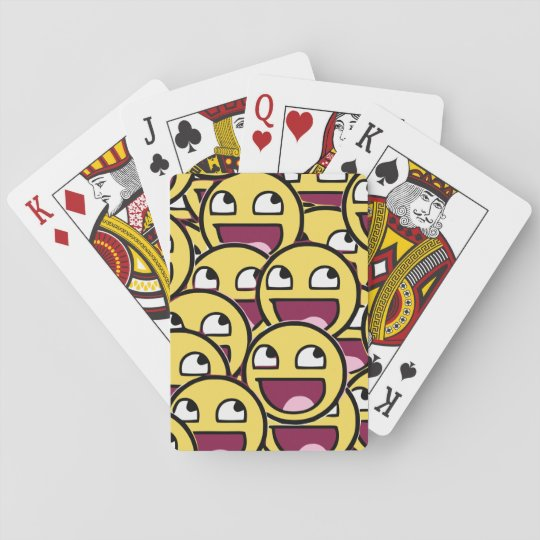 Smile Family Playing Cards