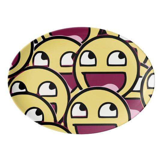 Smile Family Porcelain Serving Platter