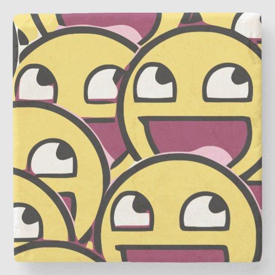 Smile Family Stone Coaster