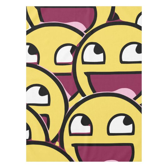 Smile Family Tablecloth