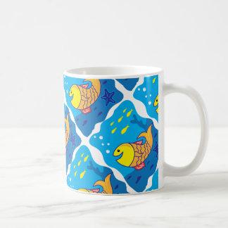 Smile Fish Coffee Mug
