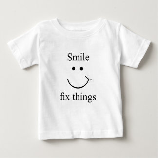 Smile fix things baby T-Shirt