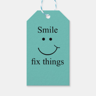 Smile fix things gift tags