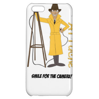 Smile For the camera Cover For iPhone 5C