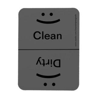 Smile/Frown - Drk Gray Magnet
