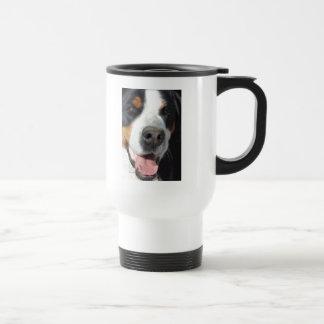 Smile! Greater Swiss Mountain Dog Travel Mug