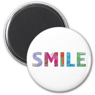 Smile Happy Quote 03 Magnet