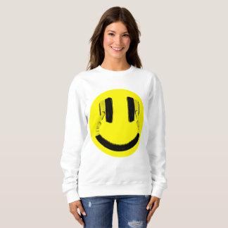 Smile Headphones Sweatshirt
