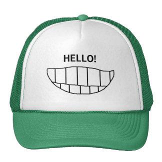 SMILE ! HELLO! - hat