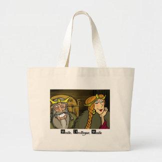 Smile, Hrothgar, Smile Tote Bags