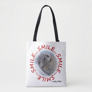 Smile...I Only Bite All Over Print Bag