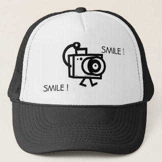 Smile ! I want to take your picture Trucker Hat