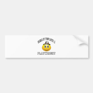 smile if you love a Playwright. Bumper Sticker