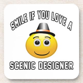 smile if you love a Scenic designer. Coasters