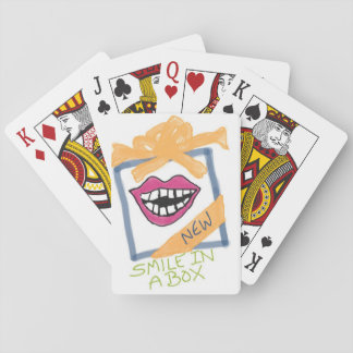 """Smile in a Box"" playing cards"