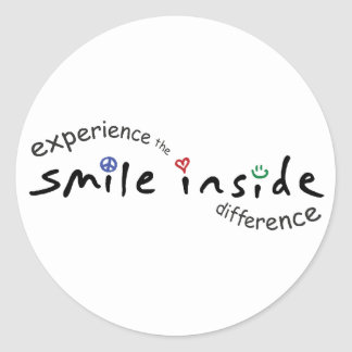 Smile Inside Sticker Sheet