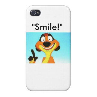 """""""Smile!"""" iPhone 4 Cover"""